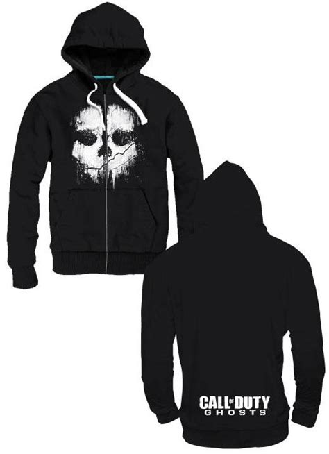 buy clothing call  duty ghosts hooded sweater logo