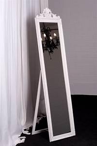 Standspiegel Antik Weiß : standspiegel 180 x 45 cm weiss barock antik wandspiegel spiegel landhaus ebay ~ Indierocktalk.com Haus und Dekorationen
