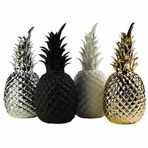 Ananas Deco Blanc : ananas d co en porcelaine pols potten ~ Teatrodelosmanantiales.com Idées de Décoration