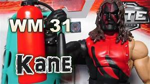 Wwe Figure Kane Wrestlemania 31 Elite Review  U0026 Stopmotion