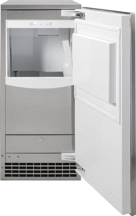 ge uccnjii    counter ice maker   lb ice capacity  lb ice production
