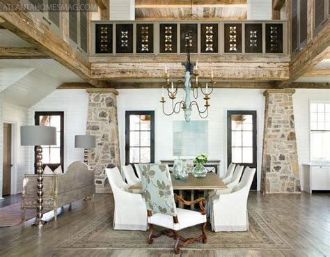 impressive lake house interiors  rustic lake house