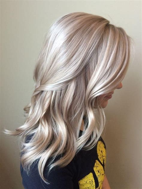 inspirations  long blonde hair colors
