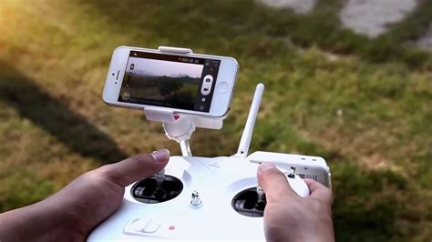 dji phantom  vision gps rc quadcopter   radio fpv camera youtube