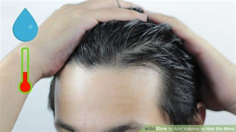 5 Ways to Add Volume to Hair (for Men) - wikiHow
