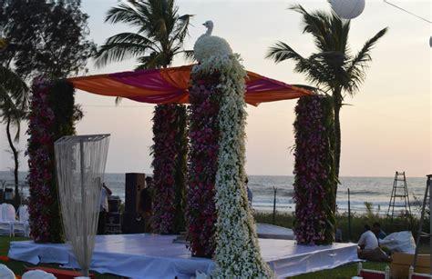 Peacock Themed Wedding At Ramada Caravela Beach Resort
