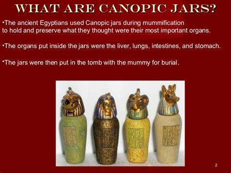 canap ik canopic jars