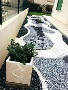 Galets Blancs Pour Jardin Pas Cher : galet decoratif exterieur amenagement jardin interieur ~ Dode.kayakingforconservation.com Idées de Décoration