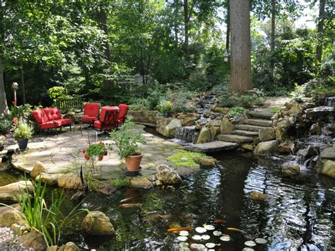 brandywine valley water garden tour barbecue success turpin landscape design build