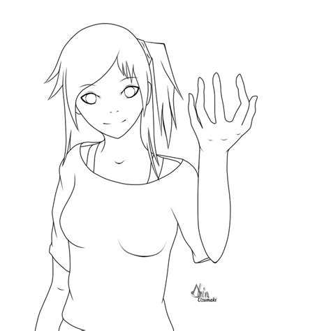 anime template the gallery for gt anime drawing template