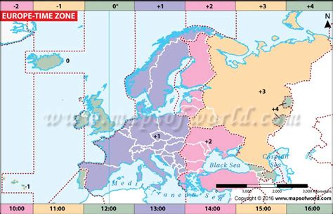 europe time zone map maps time zone map time zones map