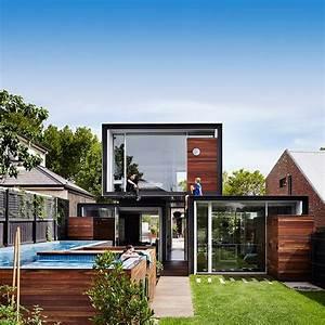 Maison Conteneur De Design Moderne  Piscine Hors Sol Et
