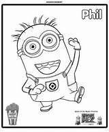 Coloring Minion Sprout Pages Minions Printable Phil Drawing Pbs Clipart Awesome Despicable Birthday Come Clipground Getcolorings Check Fun Craft Boy sketch template