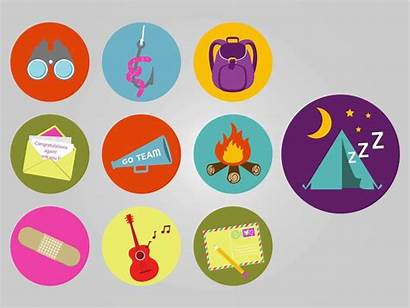 Camping Illustrations Freevector Graphics