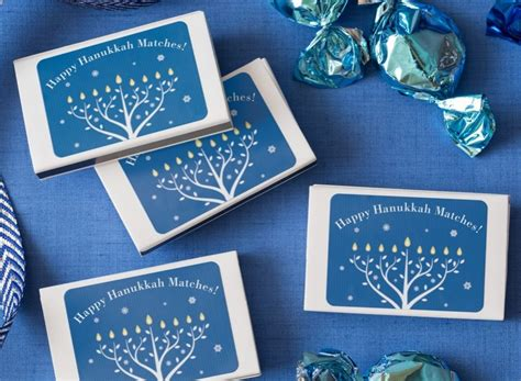 easy   hanukkah matchboxes   avery durable