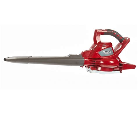 cordless leaf blower with battery and charger mountfield mbv48li cordless blower vacuum garden