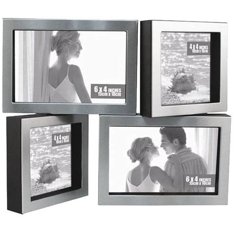 cadre photo aluminium brosse cadre photo aluminium bross 233 cadres pivotant achat vente cadre photo aluminium soldes