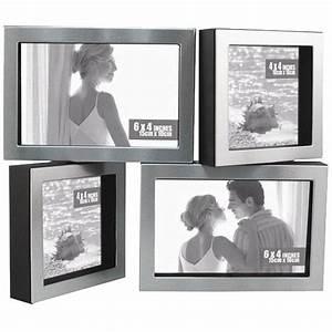 Cadre Photo A Poser : cadre photo aluminium bross cadres pivotant achat vente cadre photo aluminium soldes ~ Teatrodelosmanantiales.com Idées de Décoration