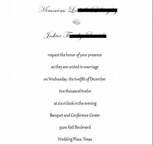 invitation wording font feedback With wedding invitations wording no plus one