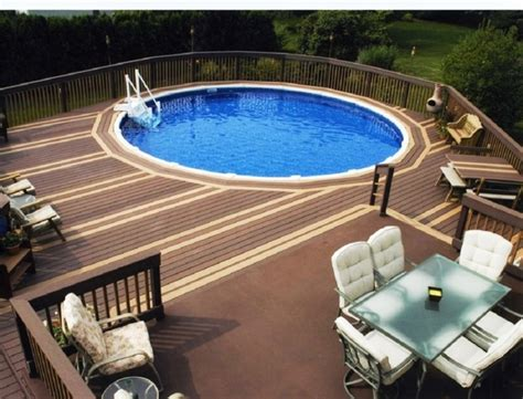 Above Ground Pool Deck Plans, Design Ideas And Useful Tips