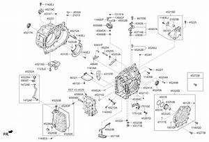 Kia Sportage Transmission Diagram
