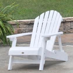 highwood hamilton folding and reclining adirondack chair size white patio