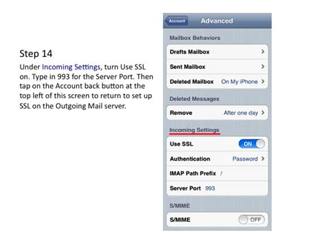 iphone email problems ios email settings apple iphone and ipod