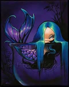 Violet Little Mermaid by Nico Niemi