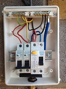 New Split Consumer Unit Wiring Diagram