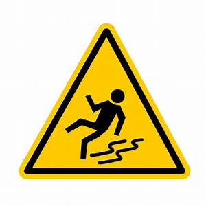 DA38 Picto PVC Danger sol glissant Pictogramme danger au travail Pictogramme Panneaux