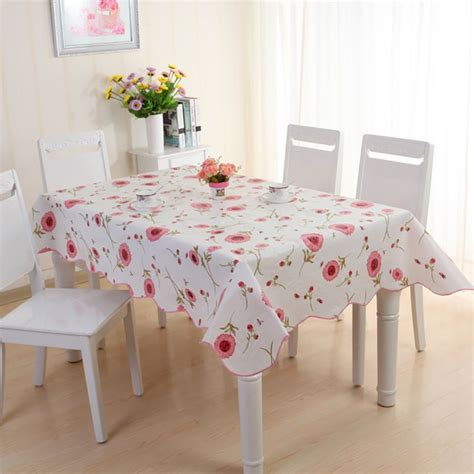wipe clean table cloth waterproof pvc vinyl wipe clean tablecloth dining kitchen