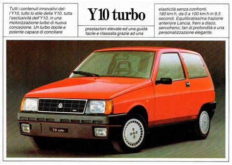 Dépliant Autobianchi Lancia Y10 Turbo a Rovigo - Kijiji ...
