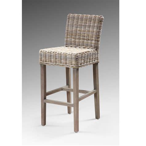 chaise de bar rotin chaise bar rotin