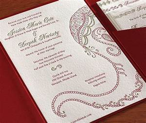 baraat letterpress wedding invitation card hand drawn With wedding invitations online asian