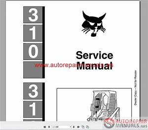 Auto Repair Manuals  Bobcat Service Manual