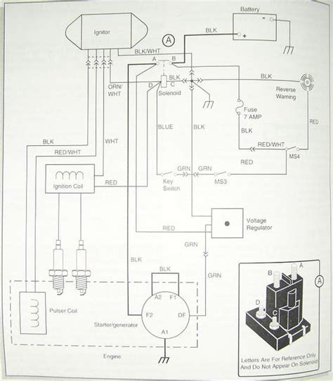1996 Ez Go Wiring Diagram by For My Ez Go Golf Cart Need A Wiring Diagram