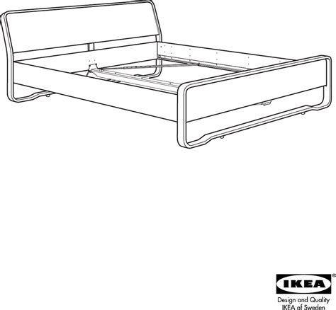 Ikea Bed Gebruiksaanwijzing by Handleiding Ikea Anes Bed Pagina 1 12 Nederlands