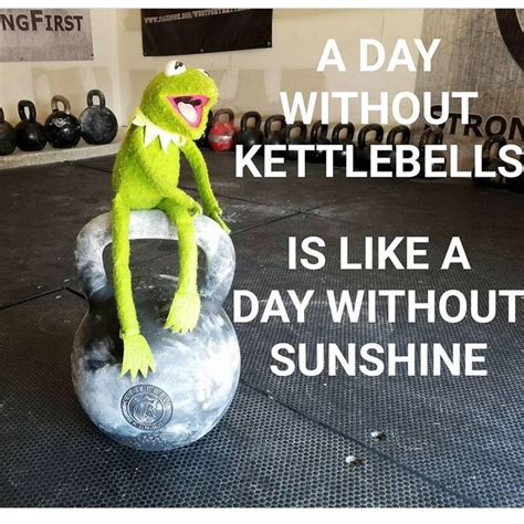 kettlebell sunny funny quotes kettlebells workout always fitness kings motivation its training humor workouts hiit