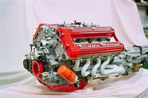 Alfa Romeo Montreal V8 Engine