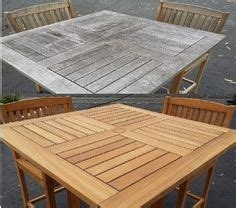 cleaning sealing outdoor teak furniture casa mia