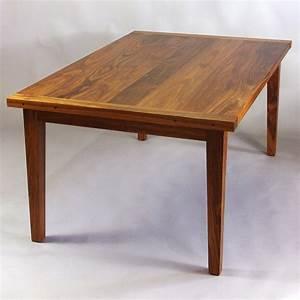 Black Walnut Dining Table - Rugged Cross Fine Art Woodworking