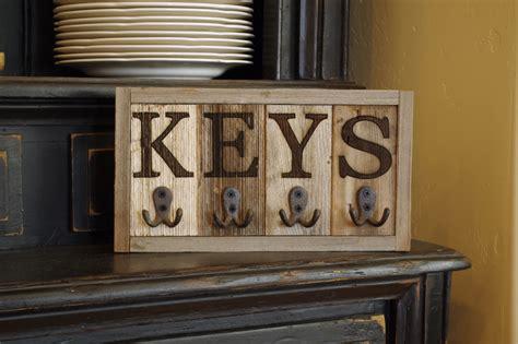 rustic wall mounted key holder key rack key hooks