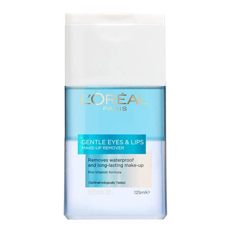 loreal eye and lip makeup remover buy dermo expertise gentle makeup remover waterproof 125