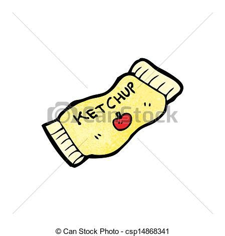 ketchup paquet dessin anime