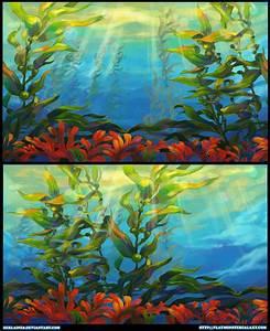 Kelp Forest by Derlaine8 on DeviantArt