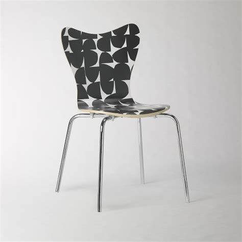 west elm scoop back chair marbleized discover and save creative ideas