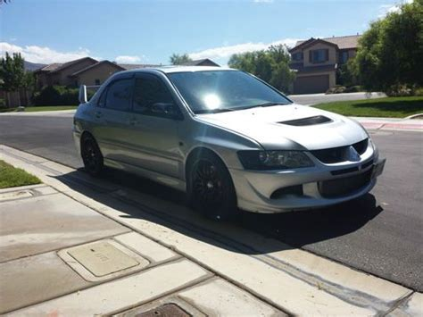 Mitsubishi Henderson Nv by Sell Used 2004 Apex Silver Lancer Evolution Viii 700 Whp