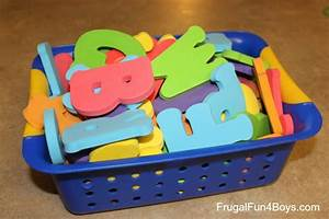 Hide And Seek Alphabet Letters Frugal Fun For Boys And Girls
