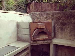Four Pizza Exterieur : construire four pizza bois maison ~ Melissatoandfro.com Idées de Décoration