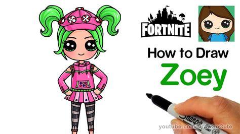 Fortnite skins tekenen tomato head fortnite tomato head found. How to Draw Zoey   Fortnite - YouTube   Schattige tekeningen, Tekenen, Kawaii